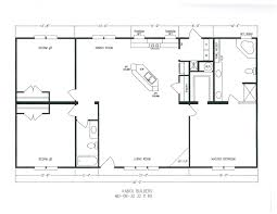 1300 Square Foot Floor Plans by Floor Plans Kabco Builders