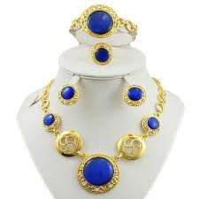 african jewelry necklace set images Colours rhinestone african jewelry sets women necklace african jpg