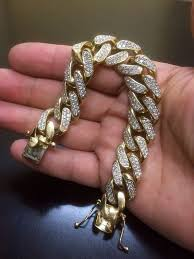 yellow gold cuban link bracelet images 14k yellow gold cuban link diamond bracelet 14k diamond bracelet jpg