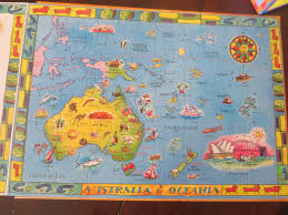 A Map Of The World Book by How To Learn The Countries Of The World Play Eat Grow