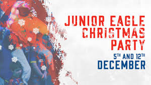 junior eagles xmas party news crystal palace fc