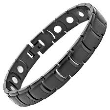 titanium bracelet men images Mens magnetic titanium bracelet amazon ca jewelry jpg