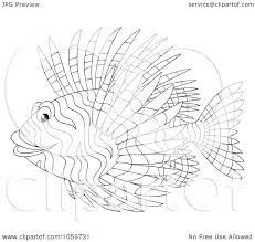 fish outline coloring page royalty free clip art illustration of a coloring page outline of a