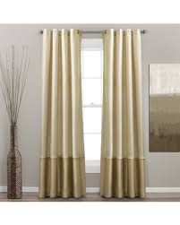 White Silk Curtains Spectacular Deal On Lush Decor Prima Ivory Taupe Curtain Panel