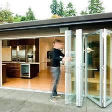 Folding Glass Patio Doors Prices Bi Fold Glass Walls Sydney Glass Supply And Installation Folding