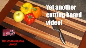 how to make a wood cutting board easy woodworking projects that