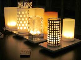 ideas battery operated lamps decorative battery operated table
