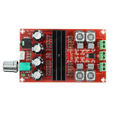 tda3116 dc12 24v d2 2 100w dual channel digital audio amplifier