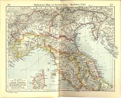 Map Of Italy And Greece by