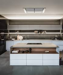 Designer Fitted Kitchens by Siematic Eilandkeuken In Hoogglans Lak Met Fineer Onze Keuken