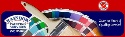 rainbow painting services paint and color selection northern