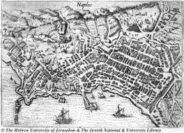 Map Of Naples Italy by Map Of Napoli 1615 Henry De Beauvau