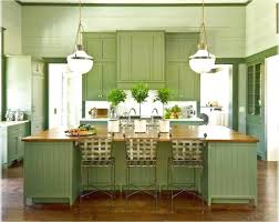 kitchen large green kitchen cabinet and island with granite top