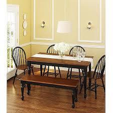 walmart better homes and gardens farmhouse table creative design better homes and gardens dining table fantastical