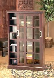bookcase tyler etagere black glass 6 shelf bookcase antique