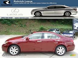 red lexus 2008 2008 lexus es 350 in royal ruby red metallic 224463 autos of