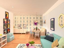 Diy Apartment Ideas City Apartment No 37 Colorful Living Room With Dining Room
