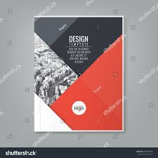 minimal simple red color design template stock vector 401544286