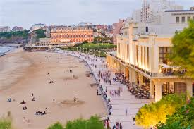 Biarritz France Map by Biarritz Travel Lonely Planet