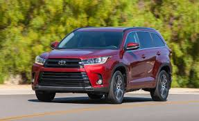 toyota new model car 2017 toyota highlander drive u2013 review u2013 car and driver