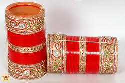 punjabi wedding chura bangles manufacturer from pali