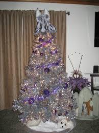 creative decoration silver tree stardust tinsel