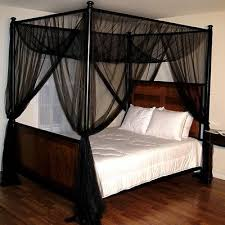4 Poster Bed With Curtains 4 Post Canopy Bed Home Design