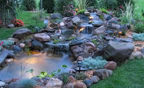 Waterfall Backyard Backyard Pond Waterfall 1000 Ideas About Small Garden Ponds On