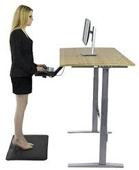affordable sit stand desk rise up electric adjustable height standing desk w beautiful real