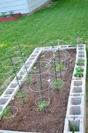 home design cinder block veggie garden general contractors