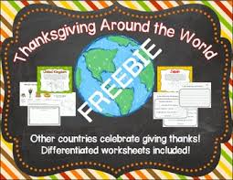thanksgiving around the world freebie by wise owls tpt