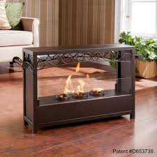 indoor portable fireplace binhminh decoration