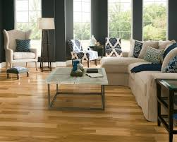 Country Laminate Flooring Solid Parquet Flooring Nailed Semi Gloss Fsc Certified