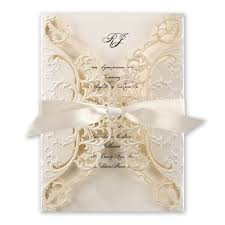 wedding invitations royal details laser cut invitation invitations by