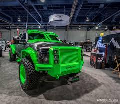 linex jeep green sema show 2015 the odd u0026 the awesome drivingline