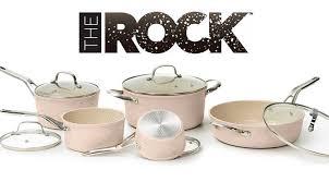la baie batterie de cuisine concours the rock gagnez une batterie de cuisine céramique