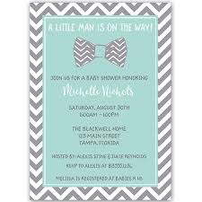 bow tie baby shower invitations bowtie baby aqua baby shower invitation the invite