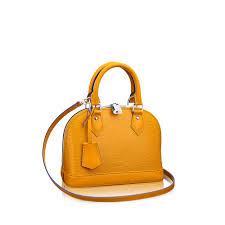 alma bb epi leather handbags louis vuitton
