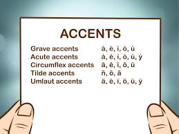 how do you put accents on letters in word images letter examples