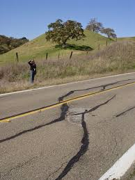 San Andreas Fault Line Map Geotripper Why Did The San Andreas Fault Cross The Road Why Did