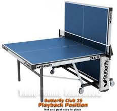 los angeles table tennis club butterfly club 25 rollaway table tennis table tr654 944 99