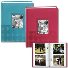 photo album 4x6 pioneer circles embossed photo album 200 4x6 photos assorted 4