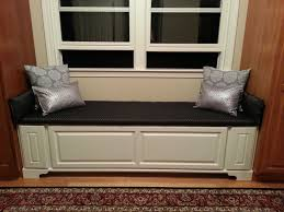 hand made window bench w drawers by the homestead woodshop