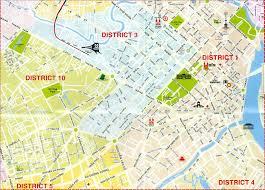 San Jose District Map by Ho Chi Minh Map