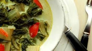 cuisine des blettes curry végétarien de blettes recette par le cri de la courgette