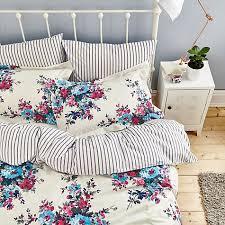buy joules charlotte floral bedding online at johnlewis com beds