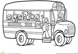 bus coloring pages exprimartdesign