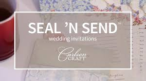 Seal And Send Invitations Seal U0027n Send Wedding Invitations Youtube