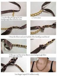 chokers necklace diy images How to make choker necklace la necklace jpg