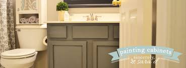 painting bathroom cabinets with chalk paint painting cabinets with chalk paint sincerely sara d